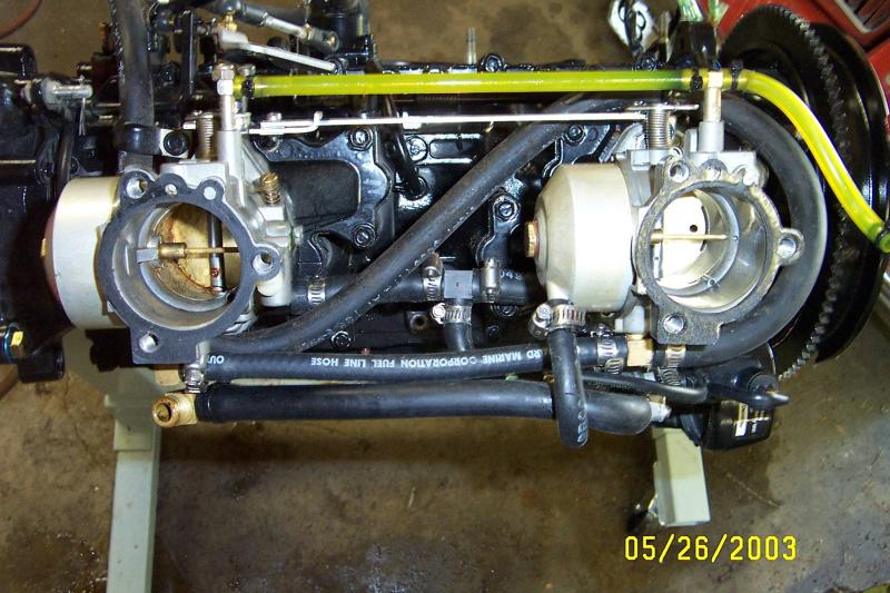 Mirage Jet Boat Engine Rebuild Mjbe Disassy Carbs 1